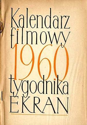 """Kalendarz Filmowy Tygodnika """"Ekran"""". 1960."""