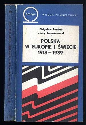 Polska w Europie i swiecie 1918-1939.: Landau Zbigniew, Tomaszewski