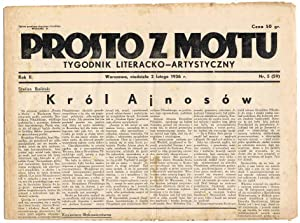 Prosto z Mostu. Tygodnik Literacko-Artystyczny. R.2 (1936).