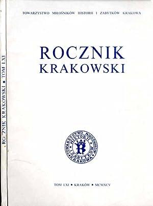 Rocznik Krakowski. T.61 (1995).