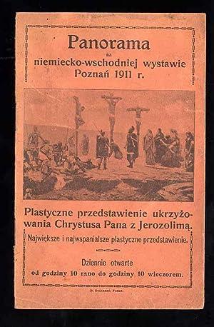 Panorama. Na niemiecko-wschodniej wystawie Poznan 1911 r.