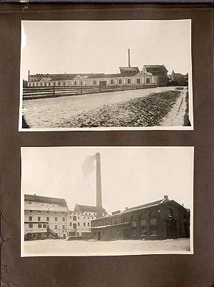 """Album fotografii """"AUGUST PESCHKA LEDER - FABRIK""""]."""