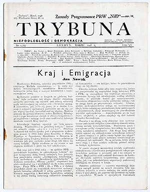 Trybuna. Niepodleglosc i Demokracja. Nr 13/14 (III