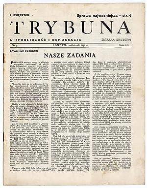 Trybuna. Niepodleglosc i Demokracja. Nr 32 (X