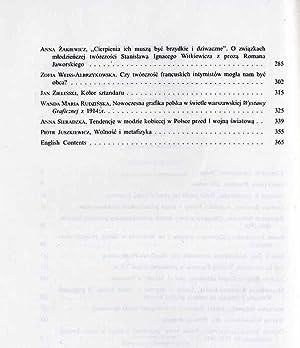 Przed Wielkim Jutrem. Sztuka 1905-1918. Materialy Sesji Stowarzyszenia Historykow Sztuki Warszawa, ...
