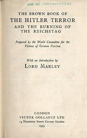 The Brown Book of the Hitler Terror