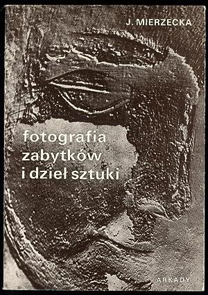 Fotografia zabytkow i dziel sztuki.: Mierzecka Janina:
