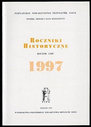 Roczniki Historyczne. R.63 (1997).