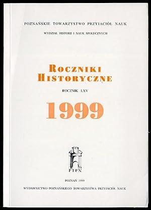 Roczniki historyczne. R.65 (1999).