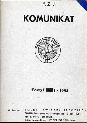 Komunikat P.Z.J. Z. 1-6 (1983)
