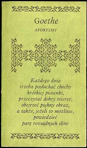 Johann Wolfgang Goethe Abebooks
