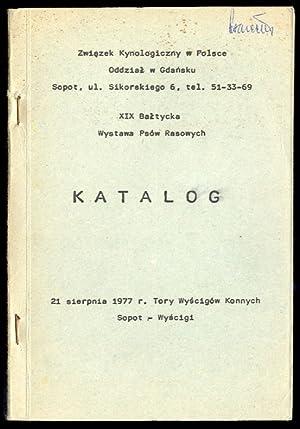 XIX Baltycka Wystawa Psow Rasowych. 21 sierpnia
