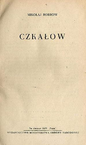 Czkalow.: Bobrow Mikolaj: