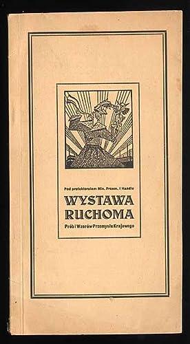 Katalog wystawcow. Wystawa Ruchoma Prob i Wzorow