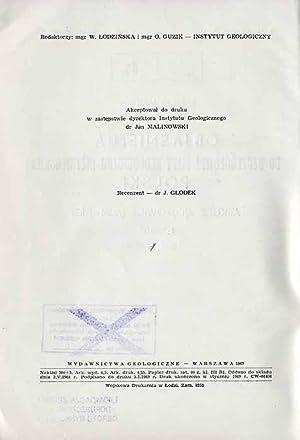 Objasnienia do szczegolowej mapy geologiczno-inzynierskiej Polski. Arkusz Wojkowice (M34-51C) 1:50 ...