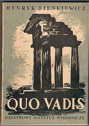 Quo Vadis. 2t. w 2 vol.: Sienkiewicz Henryk: