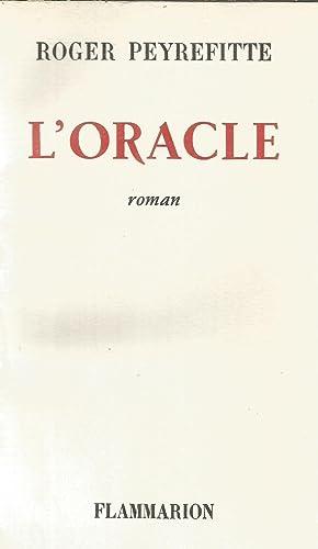 L'Oracle: Peyrefitte, Roger