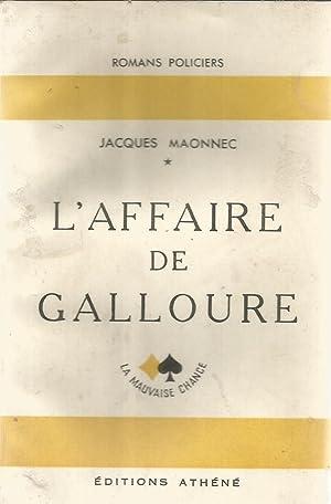 L'affaire de Galloure: Maonnec, Jacques