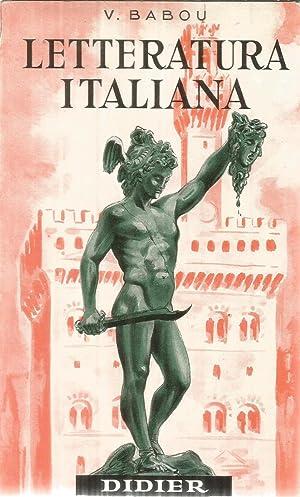 Letteratura Italiana: Babou, V.