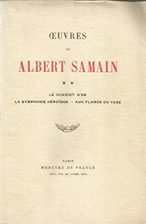 Symphonie heroique de albert samain abebooks for Albert samain la cuisine
