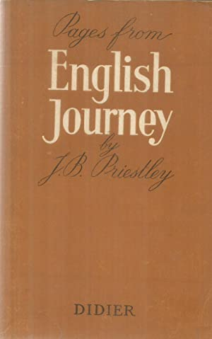 Pages from English Journey: Priestley, JB