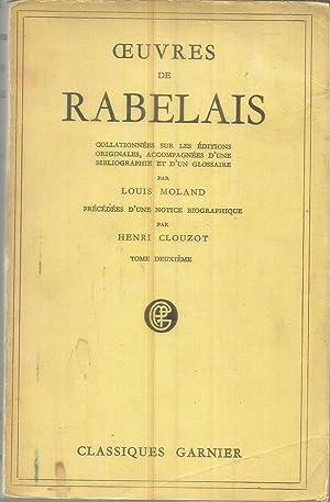Oeuvres de Rabelais: Moland, Louis