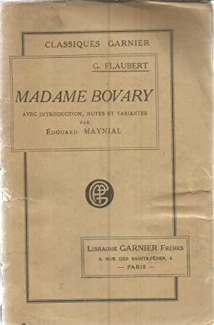 Madame Bovary - avec introduction, notes et: Flaubert, Gustave