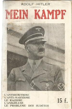 Extraits de Mein Kampf accompagn's de commentaires: Hitler, Adolf