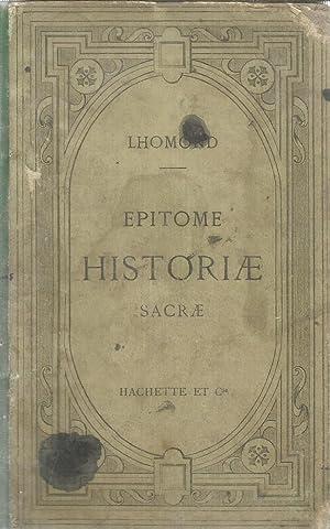 Epitome Historiae Sacrae: Lhomond - Pressard,