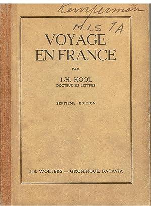Voyage en France: Kool, J.-H.