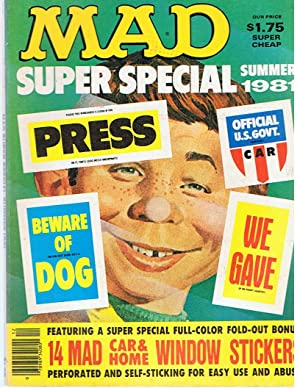 Mad Super Special Summer 1981
