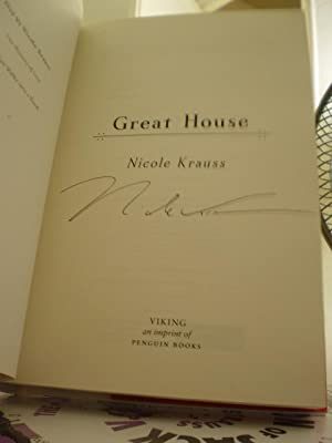 The Great House: Nicole Krauss