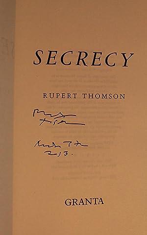 Secrecy: Rupert Thomson