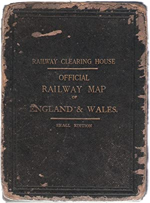 Official Railway Map of England & Wales. Small Edition