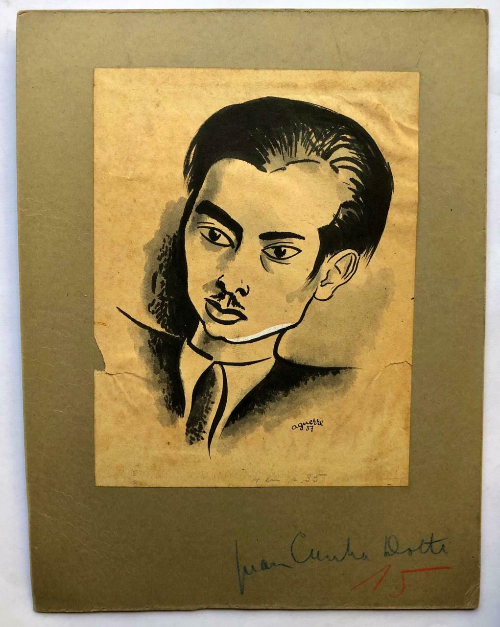 Retrato_del_poeta_uruguayo_Juan_Cunha_Dotti_Ricardo_Aguerre_18971967_Bon