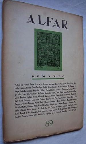 Revista Alfar - Número 89 - Montevideo: Director: Julio L.