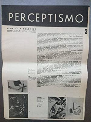 PERCEPTISMO Teorico y Polemico N° 3 -: Raúl Lozza