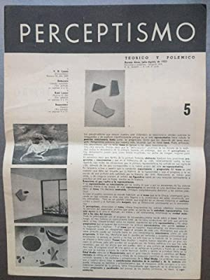 PERCEPTISMO Teorico y Polemico N° 5 -: Raúl Lozza
