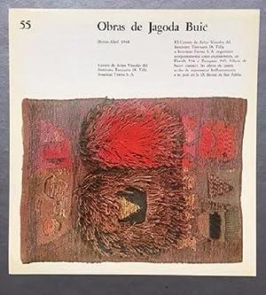 Obras de Jagoda Buic