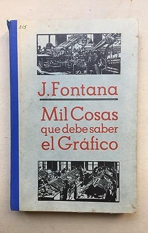 Mil cosas que debe saber el gráfico: José Fontana