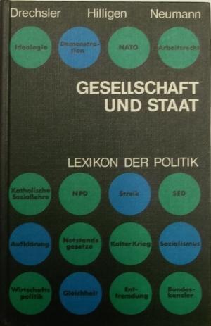 Gesellschaft und Staat. Lexikon der Politik