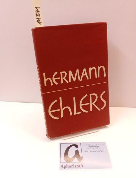 Hermann Ehlers.: Schramm, Friedrich /