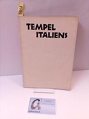 Tempel Italiens. Sechzig Abbildungen mit einer Einleitung.: Rave, Paul Ortwin