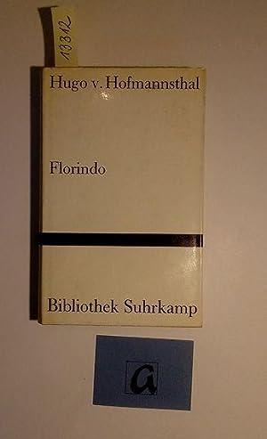 Florindo.: Hofmannsthal, Hugo von