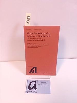 Kirche im Kontext der modernen Gesellschaft. Zur: Kaufman, F.-X. /