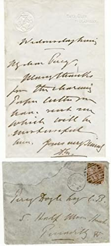 Autograph Letter Signed (ALS) Written by Edward VII as Prince of Wales from One of The Gentleman&#...