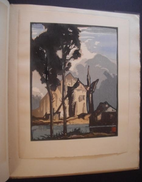 Ten Woodcuts: Cut and Printed in Colour By Yoshijiro Urushibara After Designs By Frank Brangwyn, ...