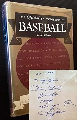 The Official Encyclopedia of Baseball (Jubilee Edition): The Complete All-Time Major League Players...