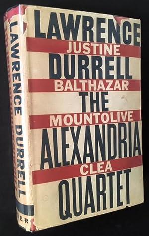 The Alexandria Quartet (Justine/Balthazar/Mountolive/Clea): Lawrence Durrell