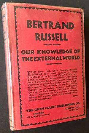 Our Knowledge of the External World: Bertarnd Russell